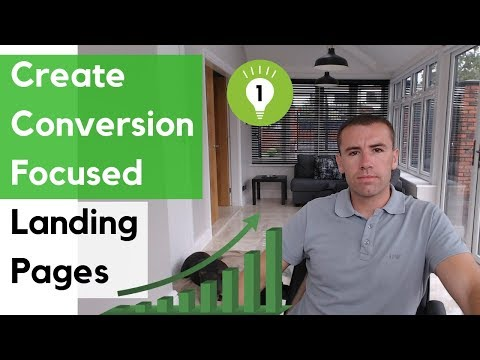 TIP 1 Make A Landing Page That Converts – The Tools
