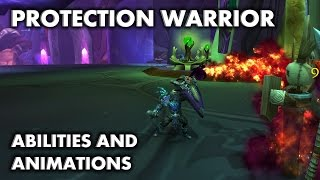 WoW: Legion - Protection Warrior Abilities and Animations Update (Beta)