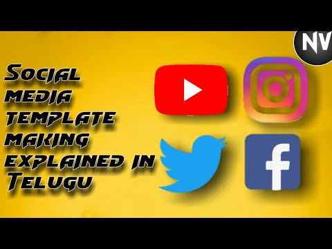 Social Media template making for YOUTUBE videos