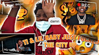 TI - Pardon (Official Video) Fт LIL Baby REACTION!!!