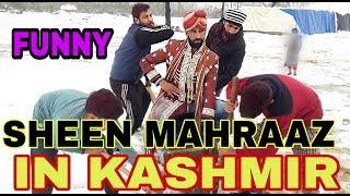 Sheen Mahraaz In kashmir.funny video