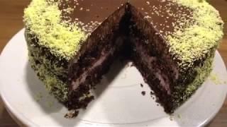 Торт Брауни (Баунти) невероятно нежные и сочные коржи!