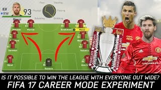 One of Rich Leigh's most viewed videos: Is It Possible To Win The League With Everyone Out Wide? - FIFA 17 Experiment
