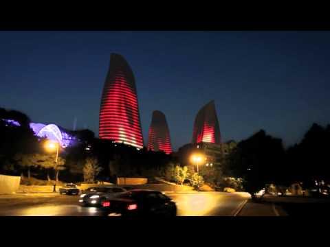 Flame Towers - Baku, Azerbaijan