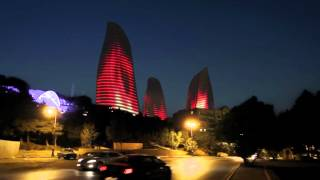 Flame Towers - Baku, Azerbaijan