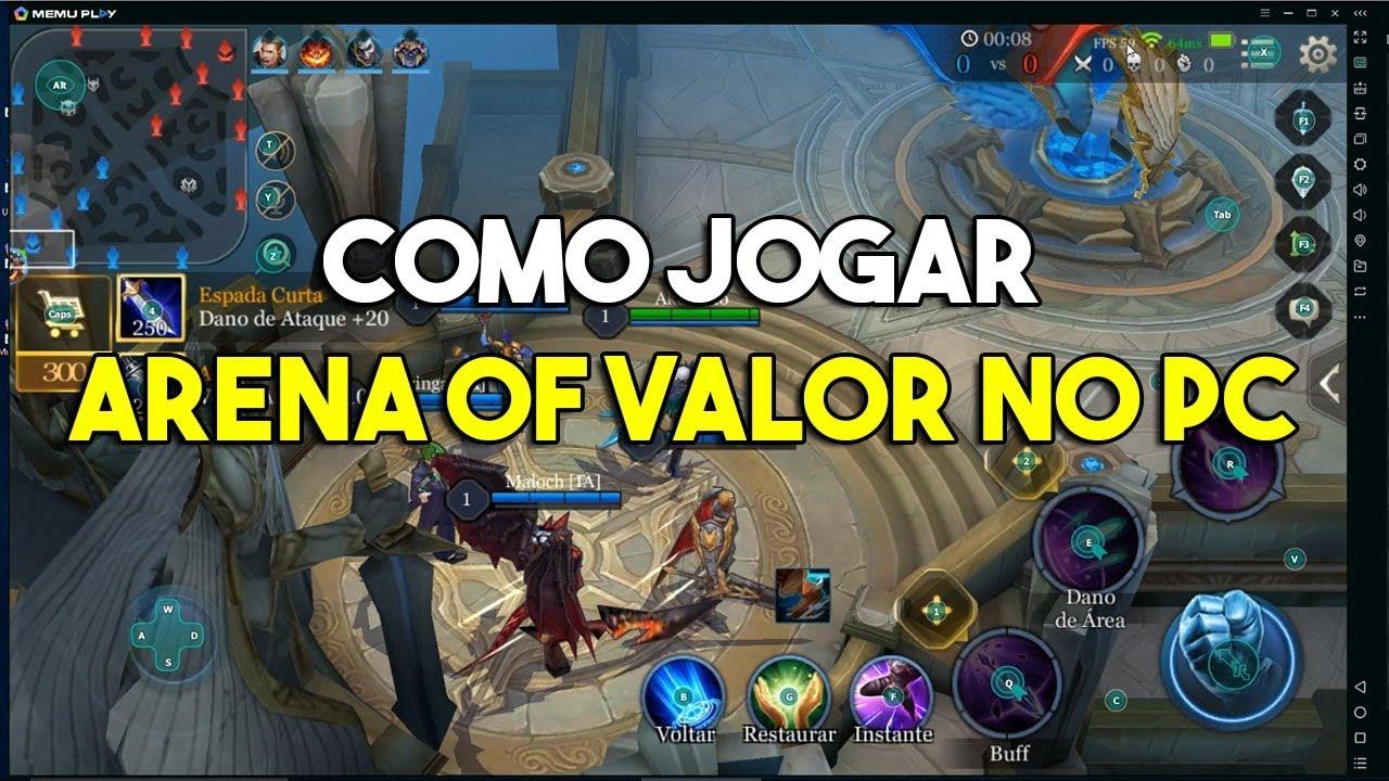 Como jogar Arena of Valor no PC (Tutorial) - Arena of Valor