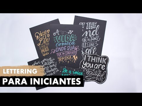 LETTERING PARA INICIANTES | Primeiro Rabisco