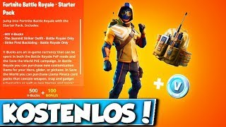 ❌FREE GIPFELSTÜRMER SET in FORTNITE!! 😱 - GIFT for YOU!
