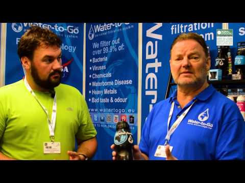 Outdoor Trade Show 2015: Water-to-Go Filter Bottle