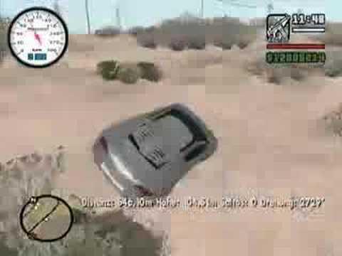 GTA SA: Grand Theft Auto San Andreas: Audi RSQ Maniac Drive!
