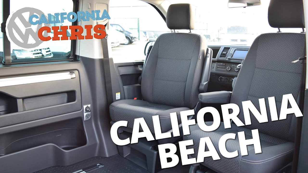 new 2016 volkswagen t6 california beach seating options. Black Bedroom Furniture Sets. Home Design Ideas