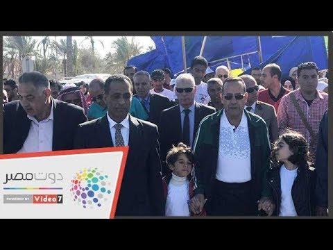 انطلاق حملة 100 مليون صحة بشمال سيناء بماراثون رياضى  - 01:58-2018 / 12 / 2