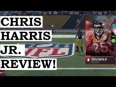 HOW GOOD IS 90 OVERALL CHRIS HARRIS JR? MUT 18 PLAYER REVIEW