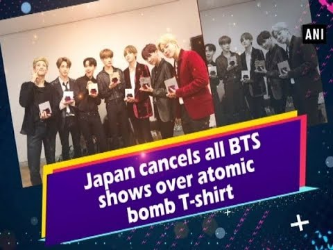 Japan cancels all BTS shows over atomic bomb T-shirt Mp3