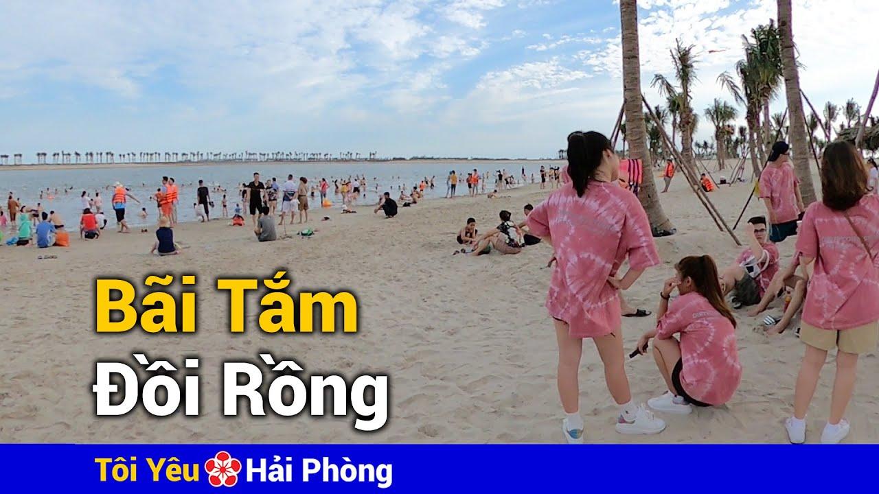 Review bãi tắm khu du lịch Đồi Rồng Đồ Sơn ở Hải Phòng (06/6/2020)