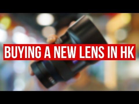Buying A NEW CAMERA LENS In HONG KONG 📸💰 - Sony A6400 VLOG