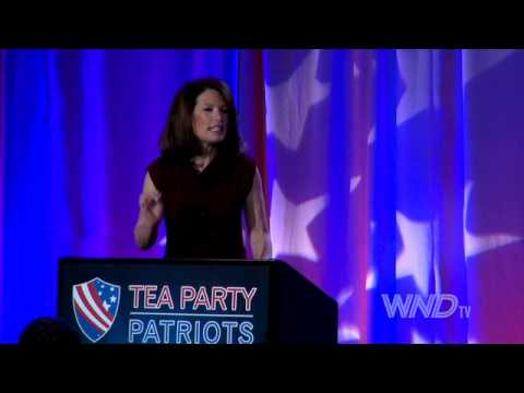 Rep. Michele Bachmann speaks at Tea Party 5 Year Anniversary Event