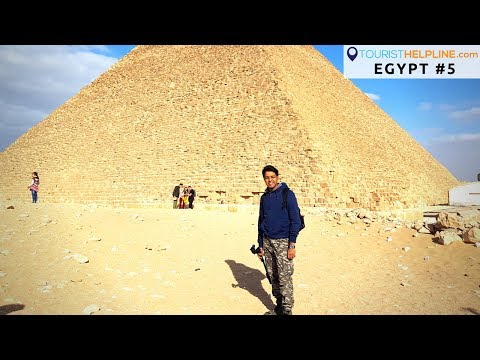 Egypt: The Pyramids | Sphinx | I got 'Tourist' scammed