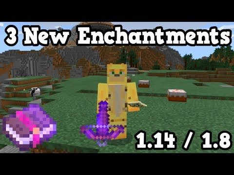 CROSSBOW & 3 New Enchantments - Beta 1.8.0.10 (1.14)