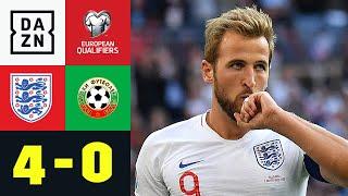 Dreierpacker Harry Kane schießt Bulgarien ab: England - Bulgarien 4:0 | EM-Quali | DAZN Highlights