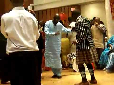 George Weah Coupe Dance in Minnesota