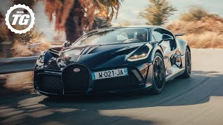 Driving the £5.4m Bugatti Divo | Top Gear