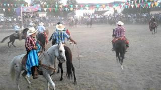 Vaquilla en Huehuetlán El Chico puebla