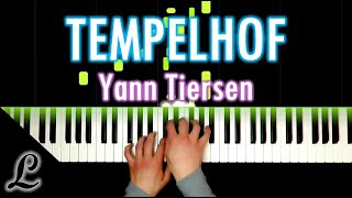 Yann Tiersen -Tempelhof (piano cover)