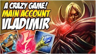 A CRAZY GAME ON VLADIMIR! - Climb to Master S8 | League of Legends