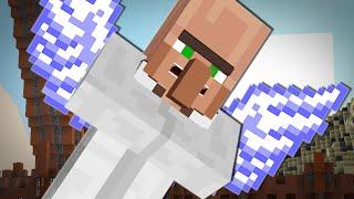 FLYING VILLAGERS CHALLENGE | Minecraft
