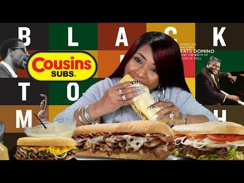 Cousins Subs Double Cheese Steak Stack Mukbang