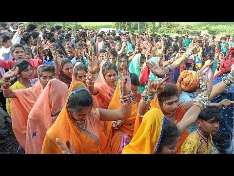Krishna Dj Varu Vaje Nach    Mp Aadivasi Timli Marriage Dance 2018    By MCL Productions