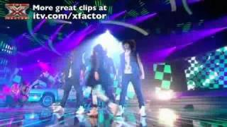 Cher sings Girlfriend   The X Factor Live Show 8 X Factor Rock Night Cher Lloyd
