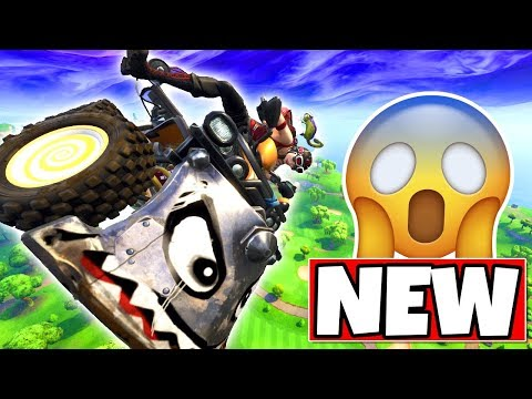FORTNITE QUADCRASHER (ATV) GAMEPLAY + SPAWN LOCATION! (Fortnite: Battle Royale New Car)