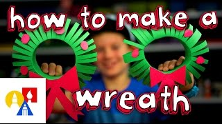 How To Make A 3D Christmas Wreath