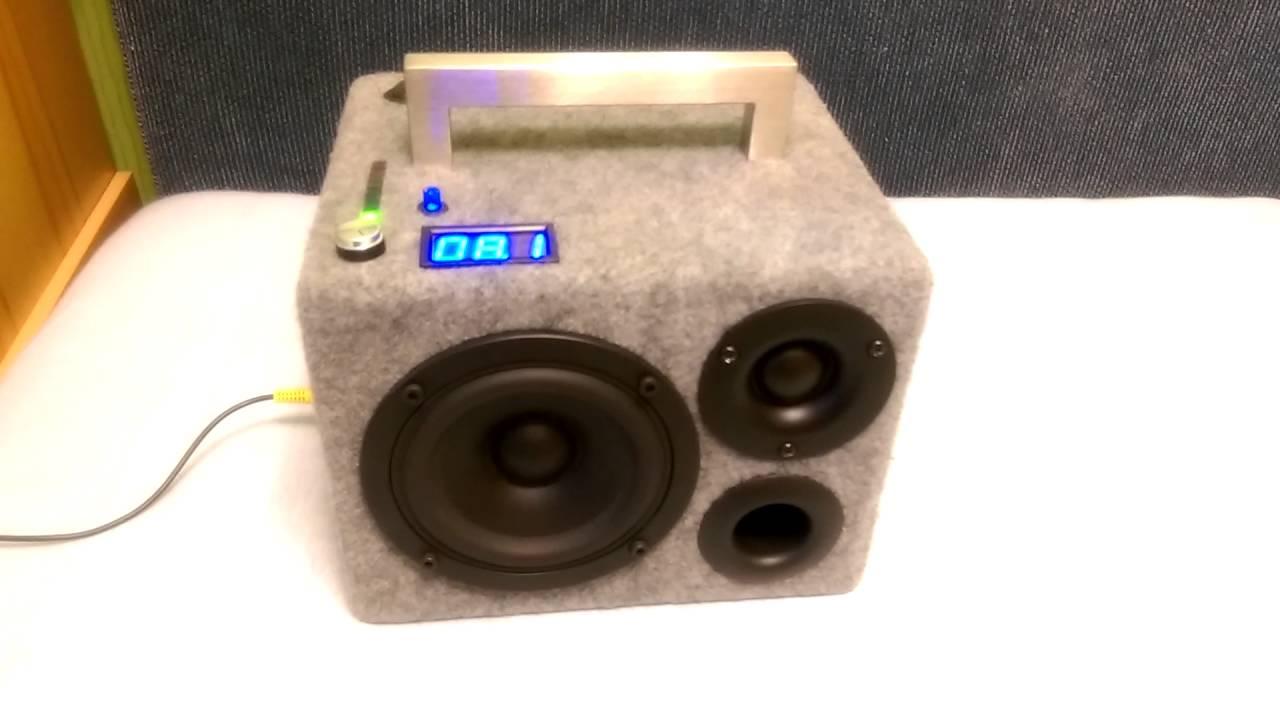 diy Portable Bluetooth Speaker Soundtest
