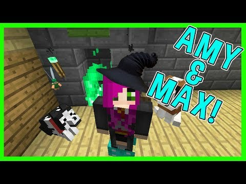 Amy & Max! Ep.24 THE FLOO NETWORK! | Minecraft | Amy Lee33