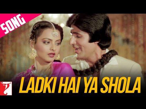 Ladki Hai Ya Shola Song | Silsila | Amitabh Bachchan | Rekha | Kishore Kumar | Lata Mangeshkar