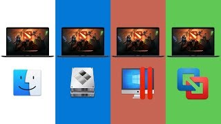 Game Performance: macOS vs Bootcamp vs Parallels vs VMware Fusion