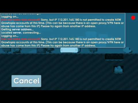 Growtopia | Can't make new account |