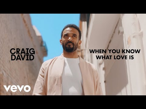 Смотреть клип Craig David - When You Know What Love Is