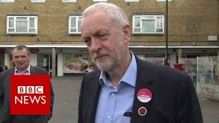 Jeremy Corbyn  Labour will put 10,000 extra police on streets   BBC News