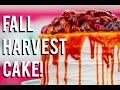 How To Make A FALL HARVEST CAKE! Carrot cake, caramel, cinnamon buttercream and sautéed fruit!