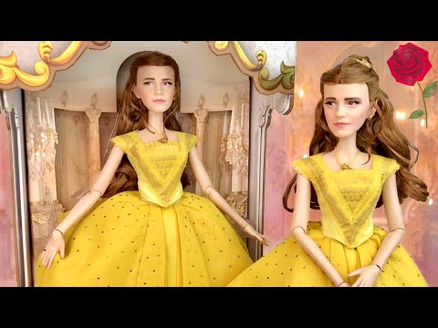 "Disney Store: 17"" Belle from Beauty and the Beast Film Limited Edition doll Review"