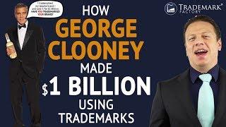 How George Clooney Made $1 Billion Using Trademarks? | Trademark Factory® FAQ