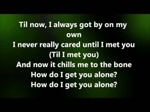 Alyssa Reid - Alone again part 2 (lyrics)