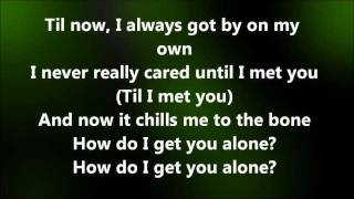 Alyssa Reid Alone Again Part 2 Lyrics