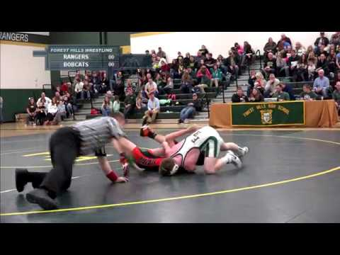 Forest Hills Varsity Wrestling vs. Blairsville High School