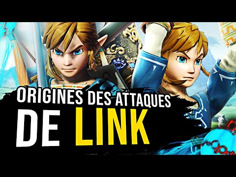 LINK : ORIGINES DES ATTAQUES SMASH BROS (ft. Iconoclaste)