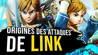 LINK : ORIGINES DES ATTAQUES SMASH BROS (ft. Iconoclaste)